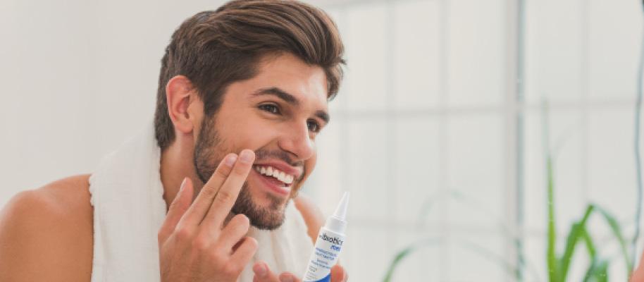 Ratgeber-Pflegeroutine-auch-fuer-den-Mann-IBIOTICS-med-Hauttinktur